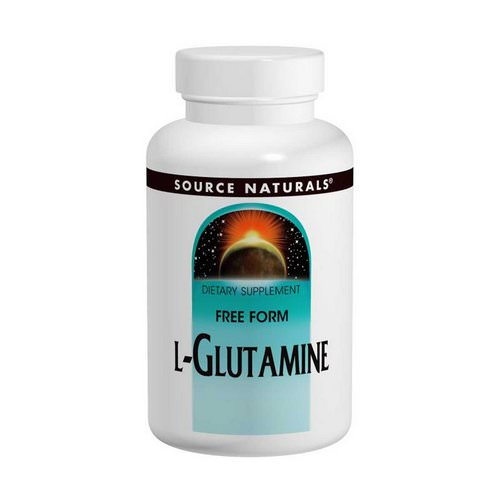 Source Naturals, L-Glutamine, Free-Form Powder, 3.53 oz (100 g) Review