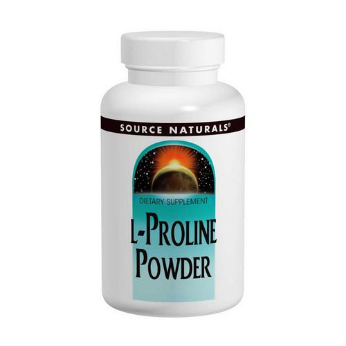 Source Naturals, L-Proline Powder, 4 oz (113.4 g) Review