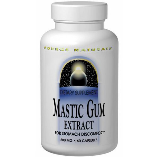 Source Naturals, Mastic Gum Extract, 60 Capsules Review