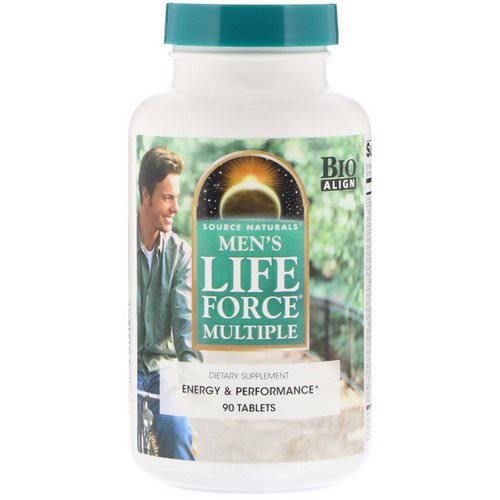 Source Naturals, Men's Life Force Multiple, 90 Tablets Review