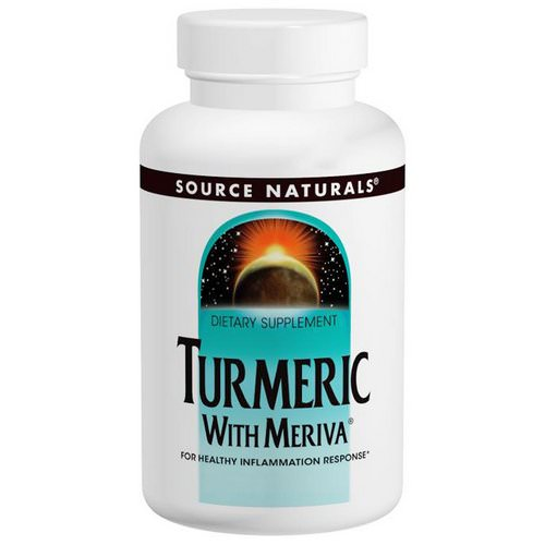 Source Naturals, Turmeric with Meriva, 500 mg, 120 Tablets Review