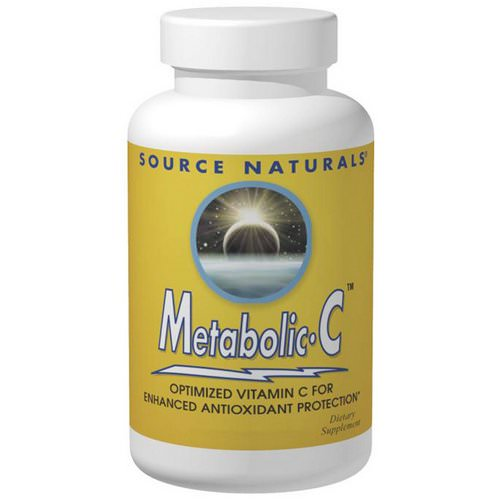 Source Naturals, Metabolic C, 500 mg, 180 Capsules Review