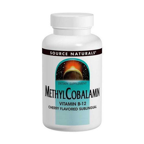 Source Naturals, MethylCobalamin Vitamin B12, Cherry Flavored, 1 mg, 120 Lozenges Review