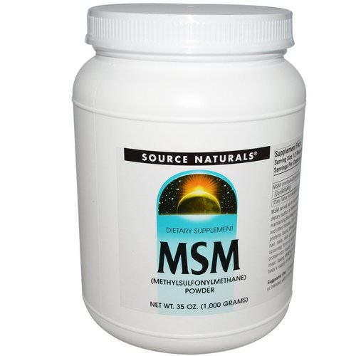 Source Naturals, MSM Powder, 2.2 lbs (1000 g) Review