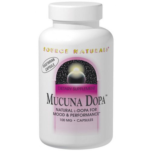 Source Naturals, Mucuna Dopa, 100 mg, 120 Capsules Review