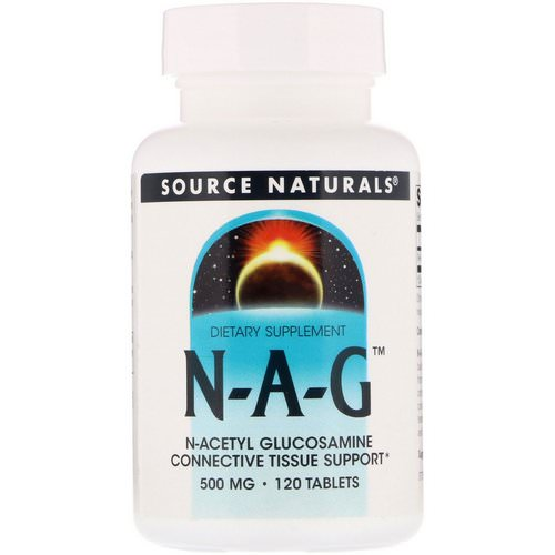 Source Naturals, N-A-G, 500 mg, 120 Tablets Review