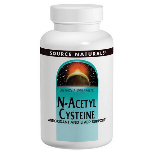 Source Naturals, N-Acetyl Cysteine, 1000 mg, 120 Tablets Review