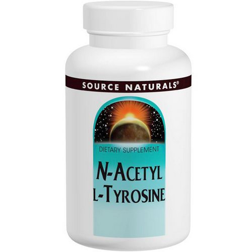 Source Naturals, N-Acetyl L-Tyrosine, 300 mg, 120 Tablets Review