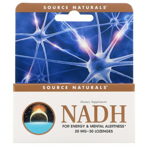 Source Naturals, NADH, 20 mg, 30 Sublingual Tablets Review
