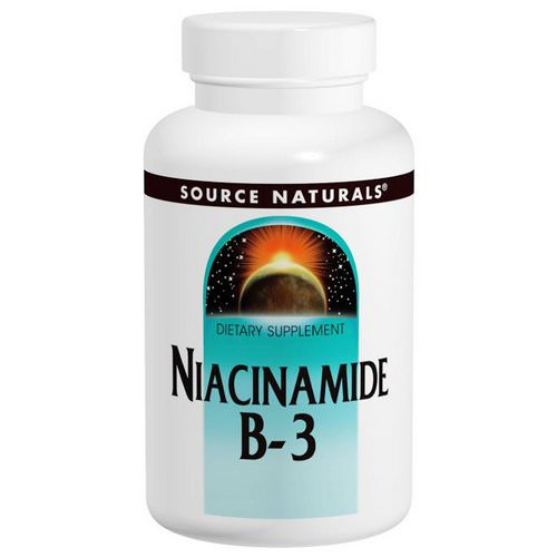 Source Naturals, Niacinamide B-3, 100 mg, 250 Tablets Review
