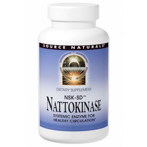 Source Naturals, NSK-SD, Nattokinase, 100 mg, 30 Capsules Review