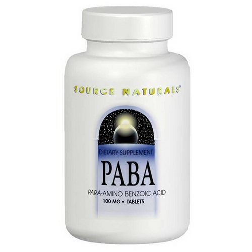 Source Naturals, PABA, 100 mg, 250 Tablets Review
