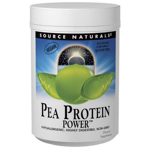 Source Naturals, Pea Protein Power, 2 lbs (907 g) Review