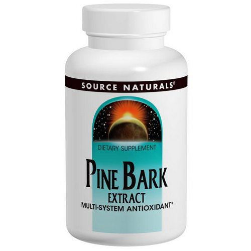 Source Naturals, Pine Bark Extract, 60 Tablets Review