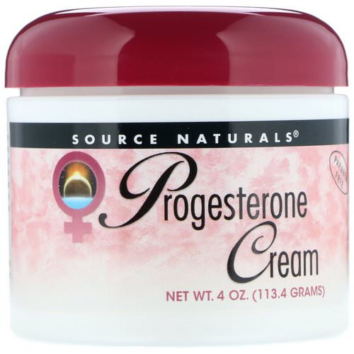 Source Naturals, Progesterone Cream, 4 oz (113.4 g) Review