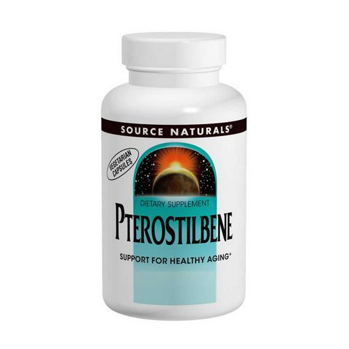 Source Naturals, Pterostilbene, 50 mg, 60 Capsules Review