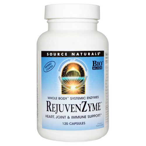 Source Naturals, RejuvenZyme, 120 Capsules Review