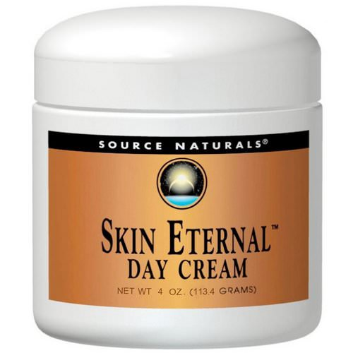 Source Naturals, Skin Eternal Day Cream, 4 oz (113.4 g) Review