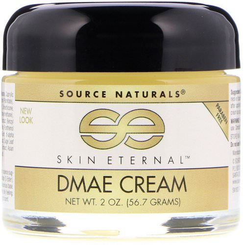 Source Naturals, Skin Eternal DMAE Cream, 2 oz (56.7 g) Review