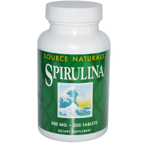 Source Naturals, Spirulina, 500 mg, 200 Tablets Review