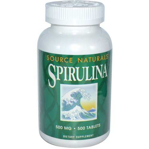Source Naturals, Spirulina, 500 mg, 500 Tablets Review