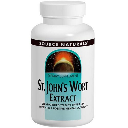 Source Naturals, St. John's Wort Extract, 300 mg, 240 Tablets Review