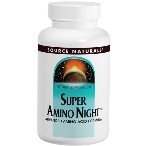Source Naturals, Super Amino Night, 240 Tablets Review