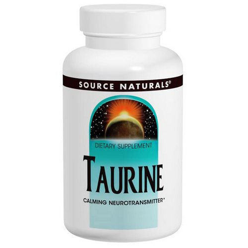 Source Naturals, Taurine 1000, 1,000 mg, 120 Capsules Review