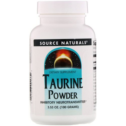 Source Naturals, Taurine Powder, 3.53 oz (100 g) Review
