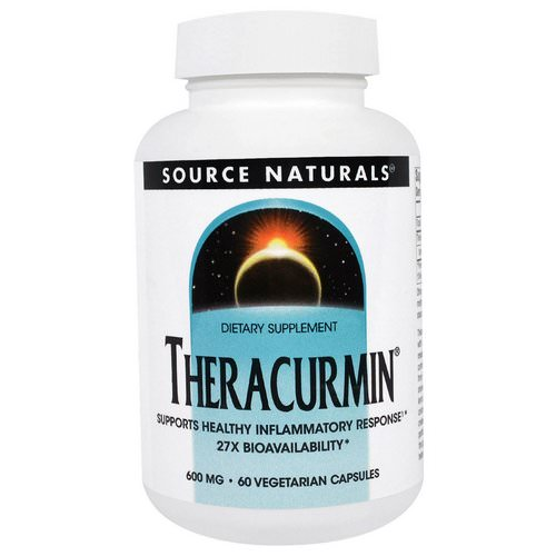 Source Naturals, Theracurmin, 600 mg, 60 Veggie Caps Review