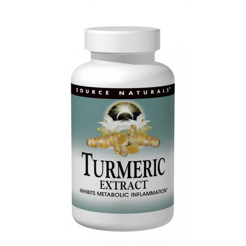 Source Naturals, Turmeric Extract, 100 Tablets Review
