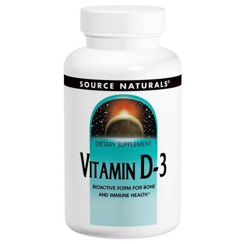 Source Naturals, Vitamin D-3, 2,000 IU, 200 Softgels Review