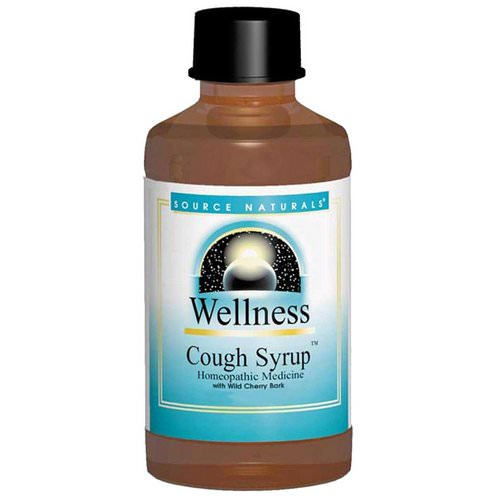 Source Naturals, Wellness, Cough Syrup, 8 fl oz (236 ml) Review