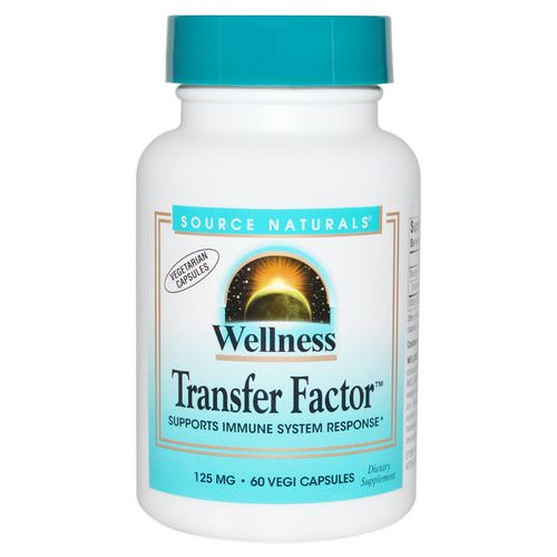 Source Naturals, Wellness Transfer Factor, 125 mg, 60 Veggie Caps Review