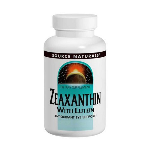 Source Naturals, Zeaxanthin with Lutein, 10 mg, 60 Capsules Review