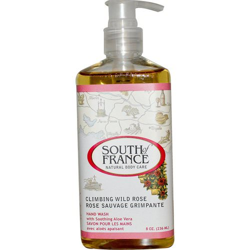 South of France, Climbing Wild Rose, Hand Wash with Soothing Aloe Vera, 8 oz (236 ml) Review