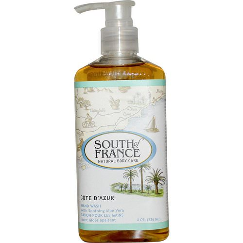 South of France, Cote D' Azur, Hand Wash with Soothing Aloe Vera, 8 oz (236 ml) Review