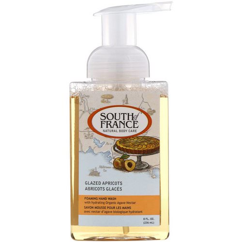 South of France, Foaming Hand Wash, Glazed Apricots, 8 fl oz (236 ml) Review