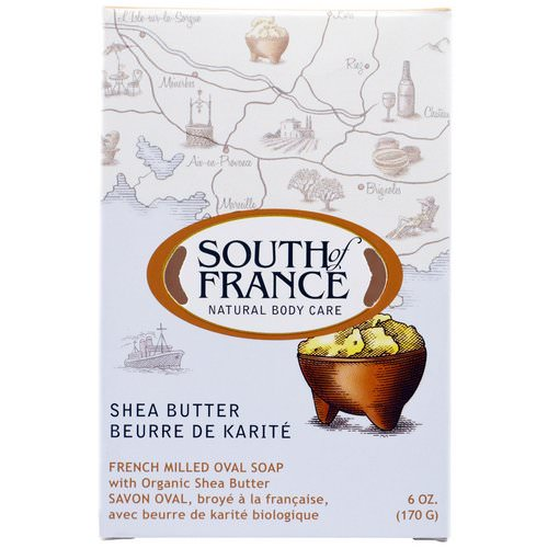 South of France, French Milled Oval Soap with Organic Shea Butter, 6 oz (170 g) Review