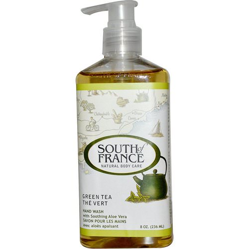 South of France, Green Tea, Hand Wash with Soothing Aloe Vera, 8 oz (236 ml) Review