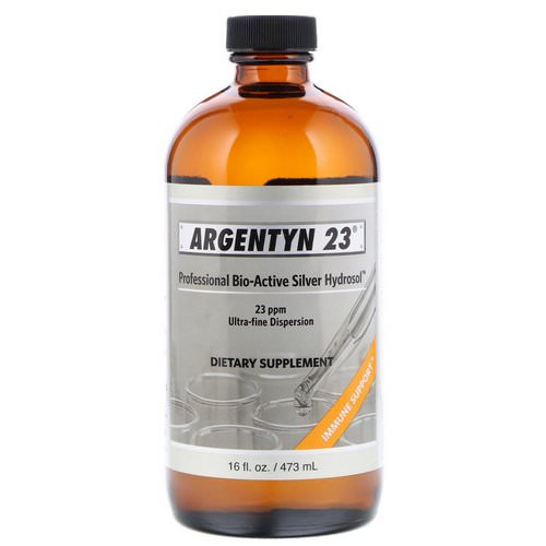 Sovereign Silver, Argentyn 23 Professional Bio-Active Silver Hydrosol, 16 fl oz (473 ml) Review