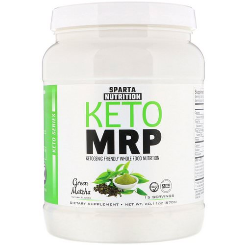 Sparta Nutrition, Keto MRP, Green Matcha, 1.25 lbs (570 g) Review