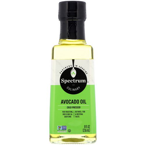 Spectrum Culinary, Avocado Oil, Cold Pressed, 8 fl oz (236 ml) Review