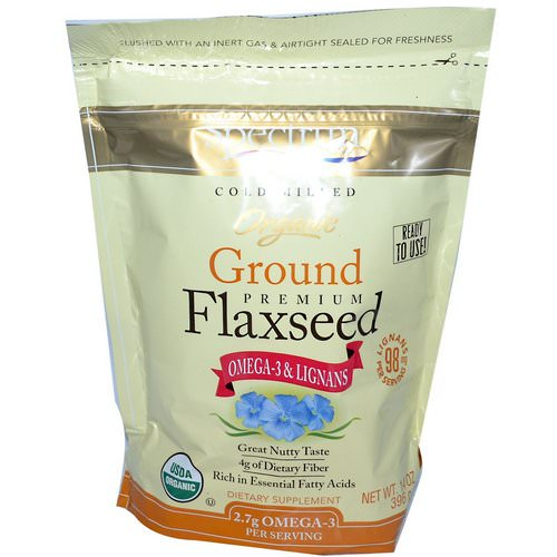 Spectrum Essentials, Organic Ground Premium Flaxseed, 14 oz (396 g) Review
