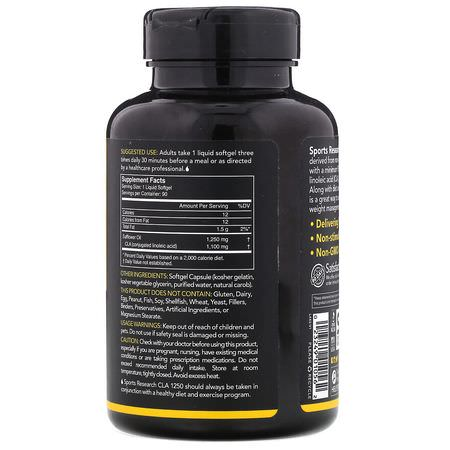 CLA Conjugated Linoleic Acid, Weight, Diet, Supplements