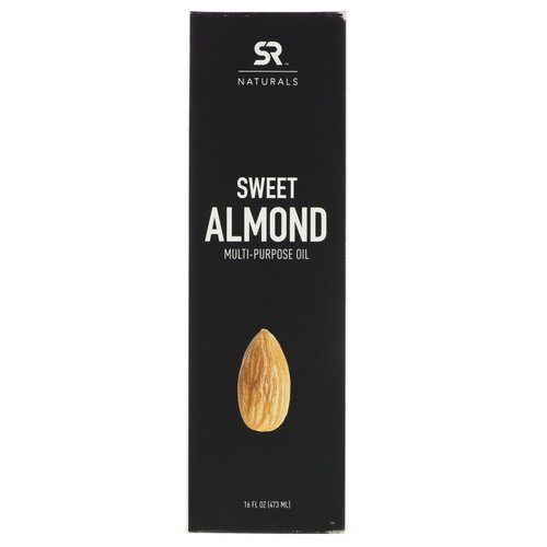 Sports Research, Sweet Almond Multi-Purpose Oil, 16 fl oz (473 ml) Review