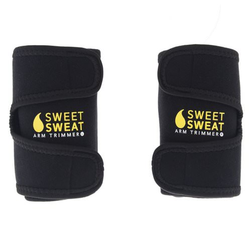 Sports Research, Sweet Sweat Arm Trimmers, Unisex-Regular, Yellow, 1 Pair Review