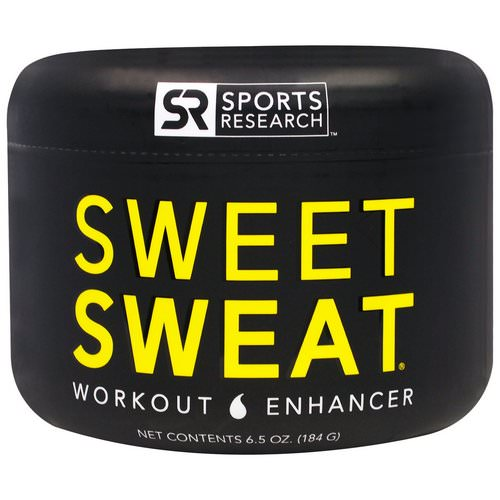 Sports Research, Sweet Sweat Workout Enhancer, 6.5 oz (184 g) Review