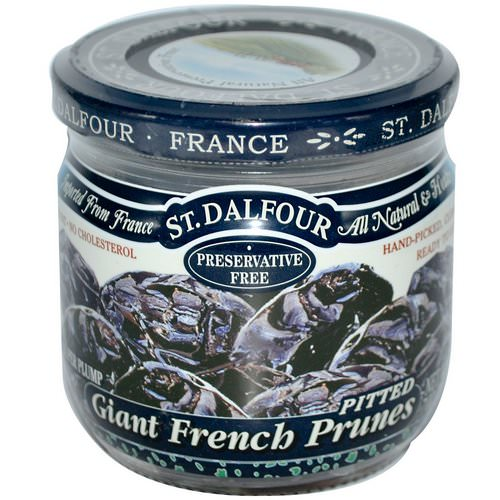 St. Dalfour, Giant French Prunes, Pitted, 7 oz (200 g) Review