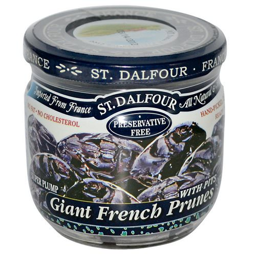 St. Dalfour, Giant French Prunes with Pits, 7 oz (200 g) Review